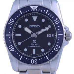 Seiko Prospex Compact Scuba Solar Divers SNE569 SNE569P1 SNE569P 200M Mens Watch