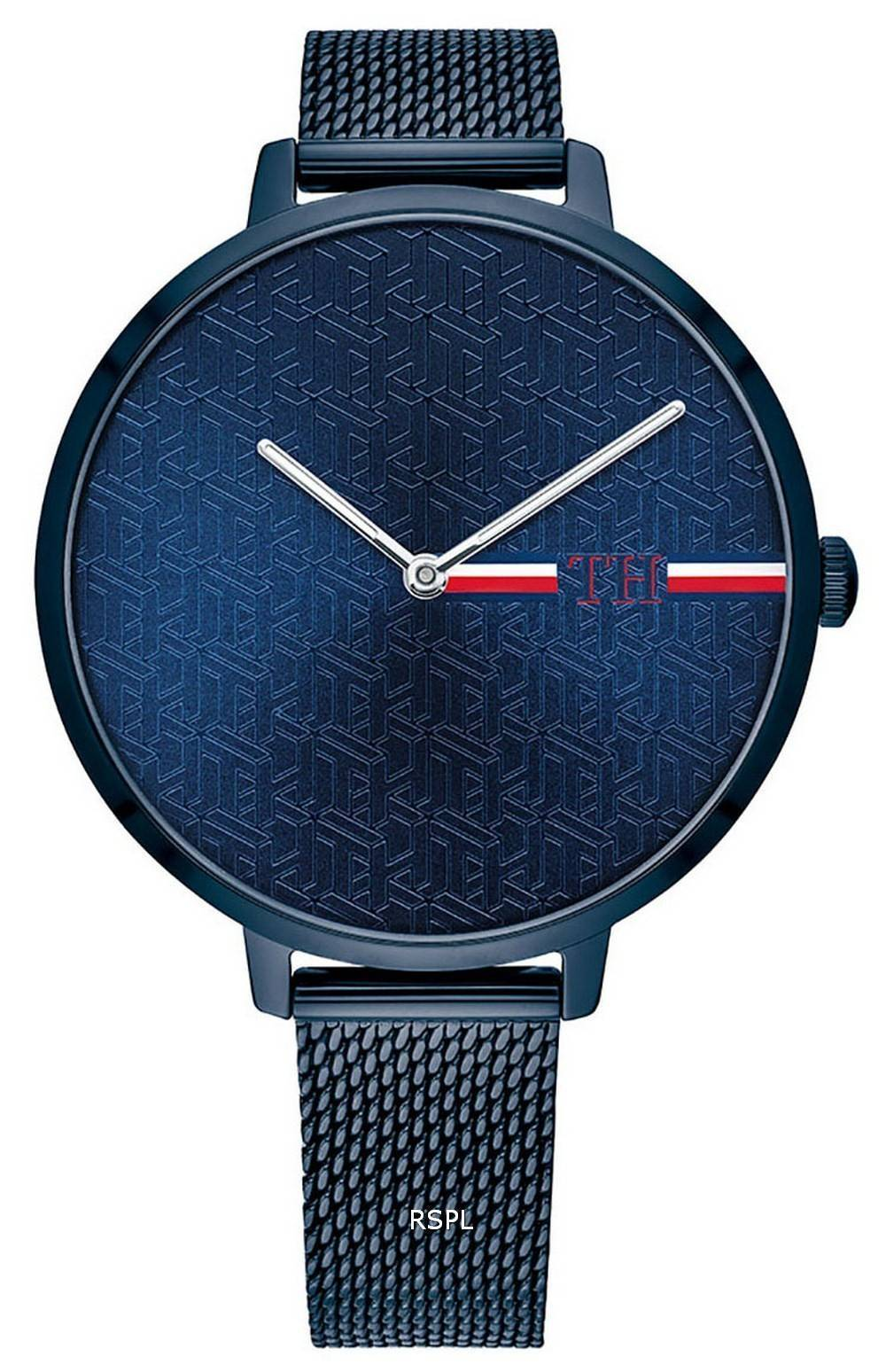 Tommy Hilfiger Alexa Blue Dial Stainless Steel Quartz 1782159 Womens Watch