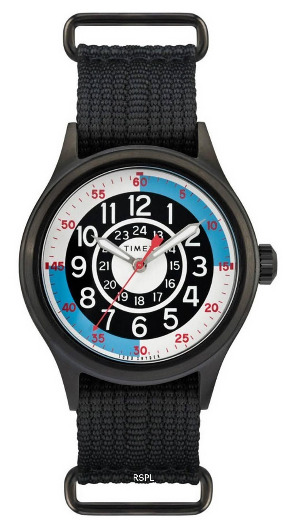 Timex Odd Snyder Blackjack Inspired Fabric Quartz TW2R56000 Mens Watch